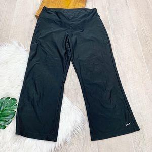 Nike Cropped Wide Leg Athletic Wear Pants 3103